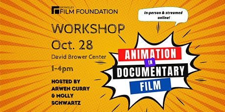 BFF Workshop: Using Animation in Your Documentary Film tickets