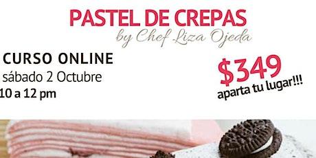 Pastel de Crepas con Chef Liza Ojeda entradas