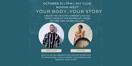 Your Body, Your Story tickets