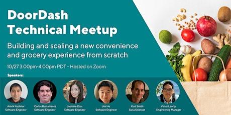 DoorDash Technical Meetup Tickets