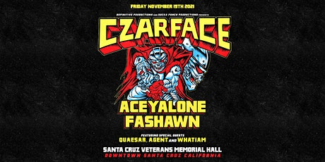 Czarface with Aceyalone & Fashawn tickets