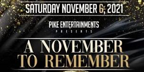 A November  to remember, Masquerade Ball Birthday Celebration tickets