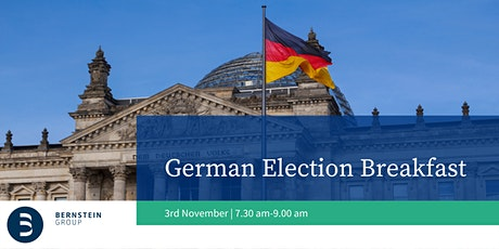 German Election Breakfast tickets
