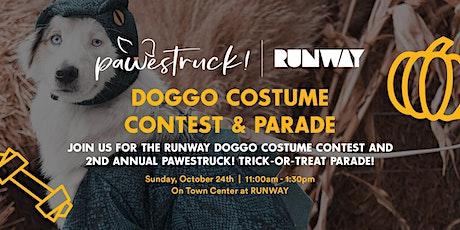 Pawestruck! X RUNWAY Doggo Costume Contest & Parade tickets