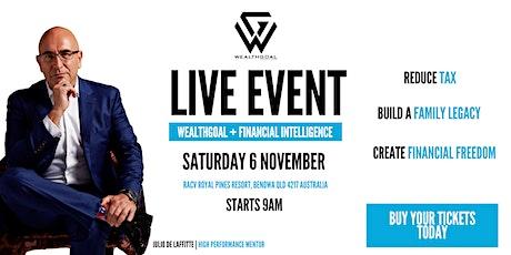 WealthGoal Workshop + Financial Intelligence + Buffet Lunch $99 tickets