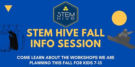 Informational Session: STEM Hive's Electronics & Physics Virtual Camp tickets