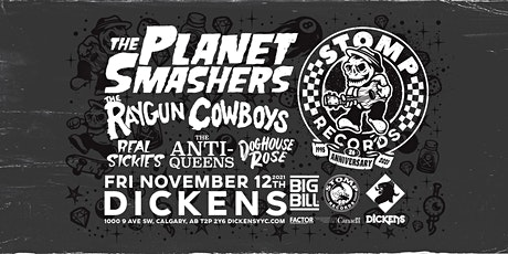 The Planet Smashers w/ Raygun Cowboys, Real Sickies, The Anti-Queens + more tickets