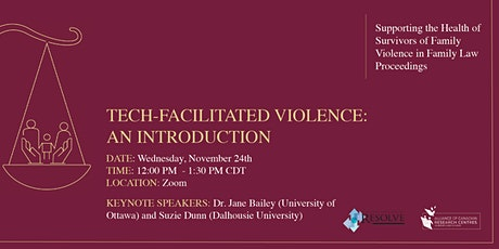Tech-Facilitated Violence: An Introduction tickets