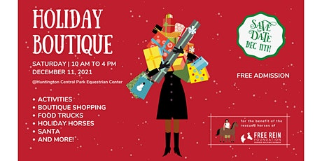 Christmas Holiday Boutique + Day of the Horse tickets