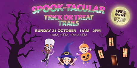 DFO Cairns Halloween Trick or Treat Trails tickets