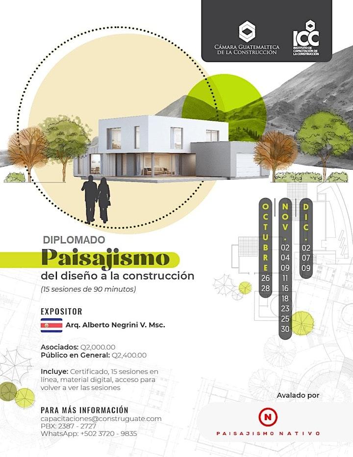 Imagen de Diplomado, PAISAJISMO: del diseño a la construcción