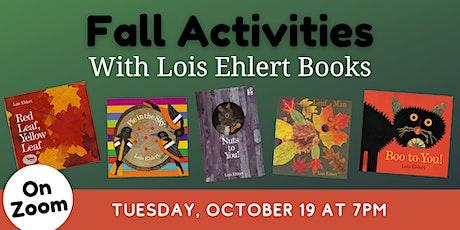 ONLINE: Teacher Training - Fall Activities with Lois Ehlert Books entradas