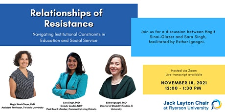 Relationships of Resistance - A Conversation tickets