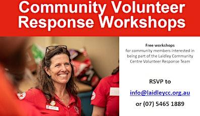 Community Volunteer Response Workshop - Recovery Basics tickets