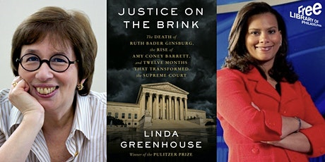 Virtual |  Linda Greenhouse | Justice on the Brink: The Death of Ruth Bader tickets