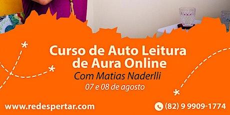 Curso de Auto Leitura de Aura Online bilhetes