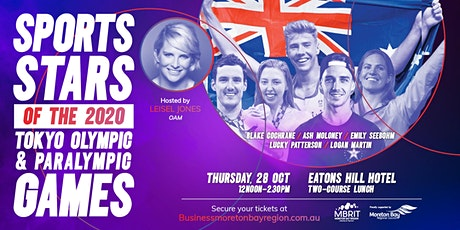 Sports Stars of the Tokyo Olympics and Paralympic Games Business Lunch tickets