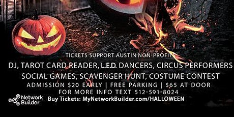 Halloween Party - Costume, Rave, Glow, 3 DJs, Live Band, social games tickets