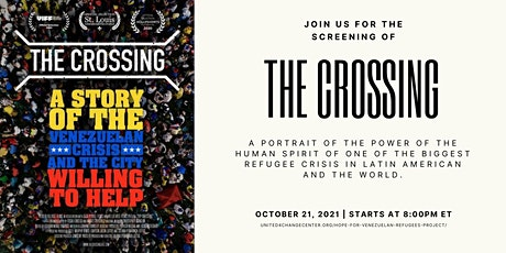 Join us for the screening of   THE CROSSING tickets