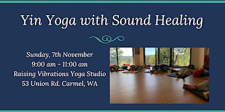 Yin Yoga with Sound Healing tickets