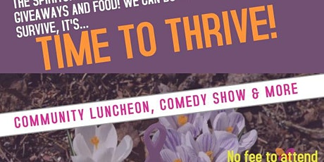 It's Time to Thrive! Community Luncheon tickets