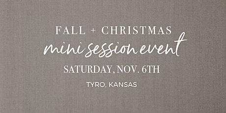 Fall + Christmas Mini Sessions 2021 tickets