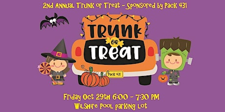 2nd Annual Trunk or Treat - Hosted by Pack 431 tickets