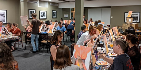 Xmas Party Paint & Sip and Pizza/Pasta main course tickets