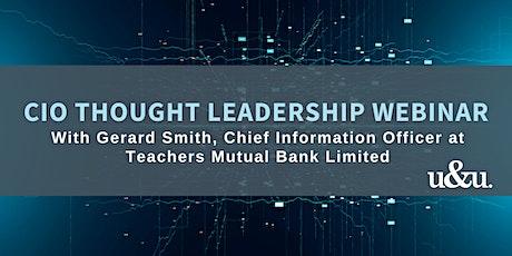 Thought Leadership Webinar   Gerard Smith tickets