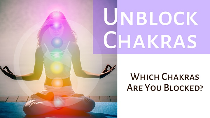 Unblock Your Chakras – FREE ONLINE SESSION image