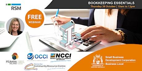 Bookkeeping Essentials  Webinar (Pilbara) tickets
