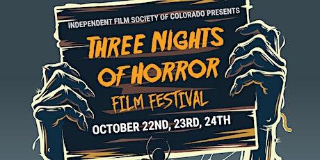 Three Nights of Horror film festival tickets