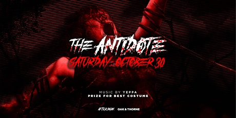 The Antidote Halloween Party at Oak tickets