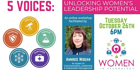 5 VOICES: Unlocking Women's Leadership Potential tickets