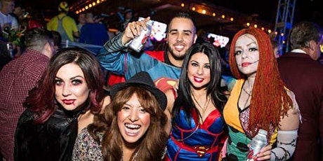 M Social Rooftop Halloween party 2021 tickets