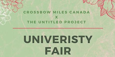 Virtual University Fair tickets