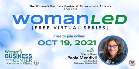 WomanLed with special guest Paola Mendivil tickets
