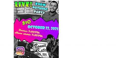 Know-Nothing Party with Steven Baker tickets