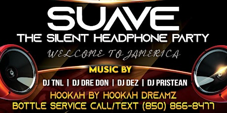 SUAVE :The Silent Headphone Party tickets