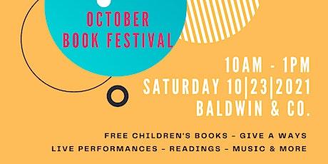 Baldwin & Co. Book Festival tickets