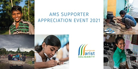 AMS  supporter appreciation event tickets