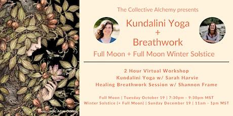 Kundalini Yoga + Breathwork Journey (Full Moon + Winter Solstice) tickets