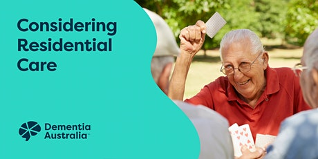 Considering Residential Care - Online - VIC tickets