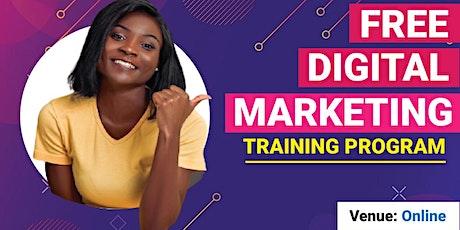 FREE Digital Marketing Online Training tickets