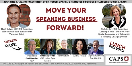 (In-Person!) Move Your Speaking Business Forward: CAPSBC Open House tickets