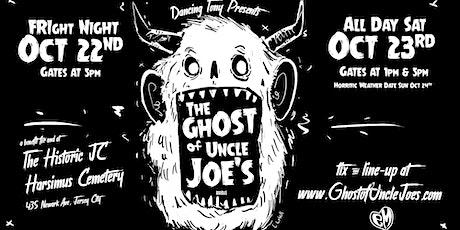 The Ghost of Uncle Joe's : Saturday Night 10/23 Saturday Night  Showcase tickets