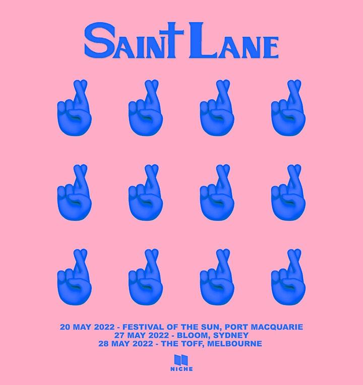 SAINT LANE  'GOOD THANKS...AND YOU?' image