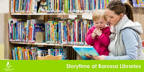 Barossa Libraries Story time - Nuriootpa tickets