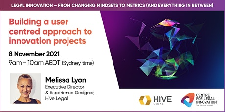 Building a user centred approach to innovation projects tickets