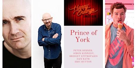 Happy Endings Comedy Club @ Prince of York - Sydney City tickets